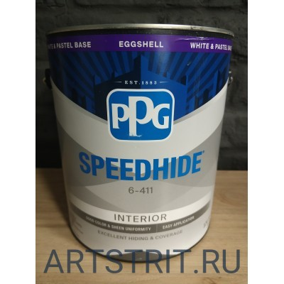 Краска  интерьерная Speedhide® EGGSHELL 1-галон (3,78 л.)