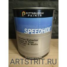 Краска  интерьерная черная Speedhide® BLACK FLAT 1-галон (3,78 л.)