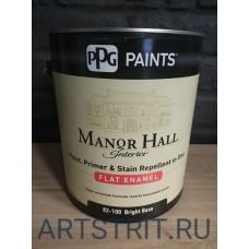 Краска  интерьерная премиальная Manor HaLL® FLAT 1-галон (3,78 л.)