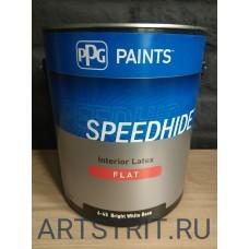 Краска  интерьерная Speedhide® FLAT 1-галон (3,78 л.)