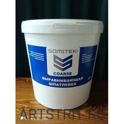 Somitek Coarse - шпатлевка профессиональная 25 кг в Красноярске