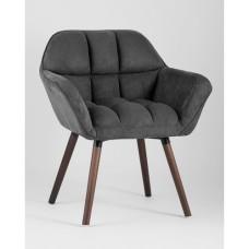 Кресло Брайан темно-серое