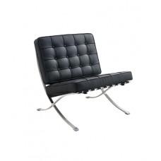 Кресло Barcelona Style черное